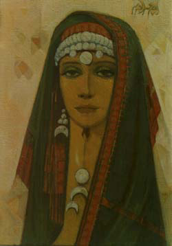A Bedouin Woman